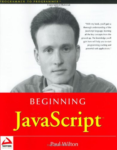 Cover: Beginning JavaScript