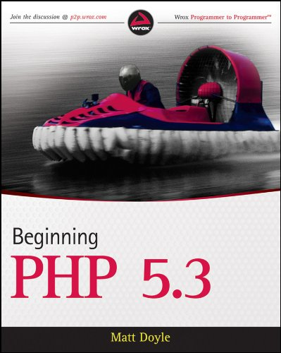 Cover: Beginning PHP 5.3