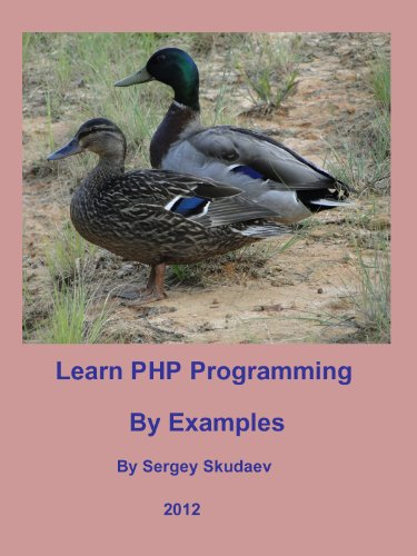 Cover: Learn PHP Programming by Examples
