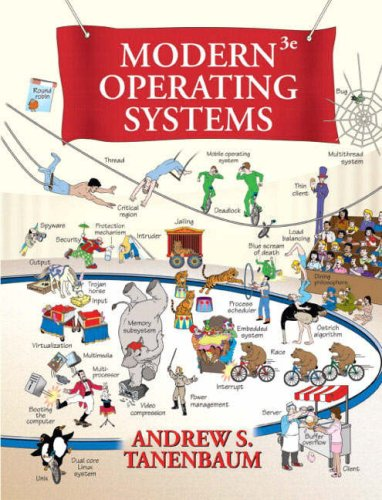 Cover: Modern Operating Systems (3rd Edition)