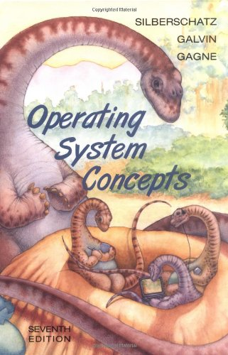 Cover: Operating System Concepts, Seventh Edition