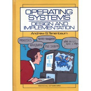 Cover: Operating Systems: Design and Implementation (Prentice-Hall Software Series)