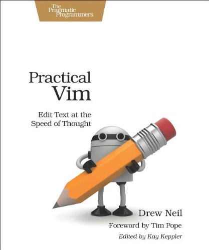 Cover: Practical Vim: Edit Text at the Speed of Thought (Pragmatic Programmers)