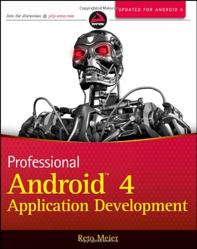 Cover: Professional Android 4 Application Development
