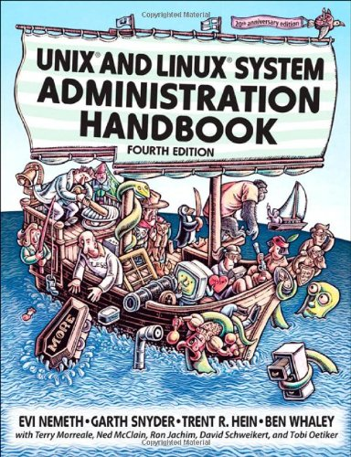 Cover: UNIX and Linux System Administration Handbook (4th Edition)