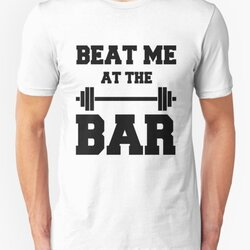 Beat me at the Bar: for challenge seeking lifters