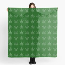 Cannabisception - Pattern of Cannabis leaves draw from Cannabis leaves