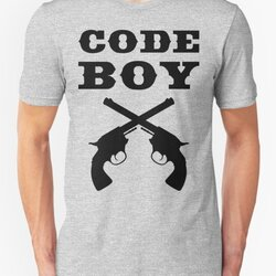 Code Boy - Western Style Design for Programmers