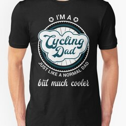 I'm a Cycling Dad Cool Birthday & Father's Day Gift Design