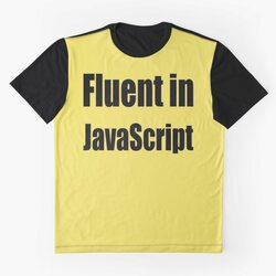 Fluent in JavaScript - Black on Yellow/Creme for Web Developers