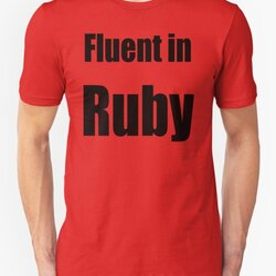 Fluent in Ruby - Black on Red for Ruby Programmers
