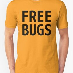 Free Bugs - What you get from a programmer - Black Text Design