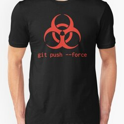 Daredevil Programmer Design: Biohazard Symbol & git push --force