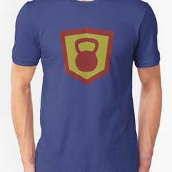 Kettlebell Knight Cool Vintage Design for Weightlifters