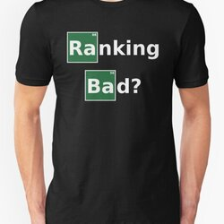 Ranking Bad? Funny White Design for SEO Experts/Online Marketers