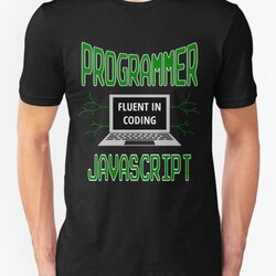 Retro Programmer Design Fluent in Coding JavaScript