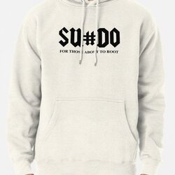 SUDO For Those About To Root Funny Black Design for Computer Geeks