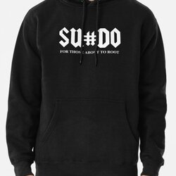 SUDO For Those About To Root Funny White Design for Computer Geeks
