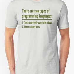 There Are Two Types of Programming Languages - Green Design