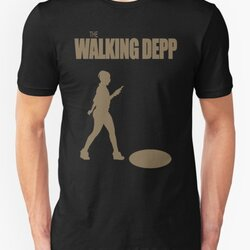 The Walking Depp - Female Smartphone User Texting while Walking