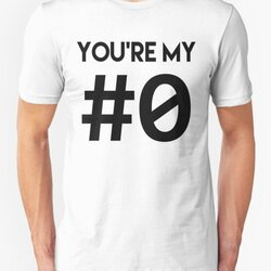 YOU'RE MY #0 - Declaration of Love for Programmers - Black Font